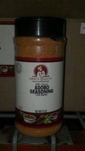 chef's quality adobo seasoning