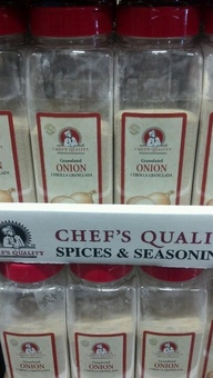 chefs quality granulated onion