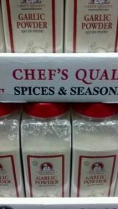Chef's Quality Garlic Powder 18 oz