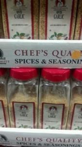 Chef's Quality Minced Garlic