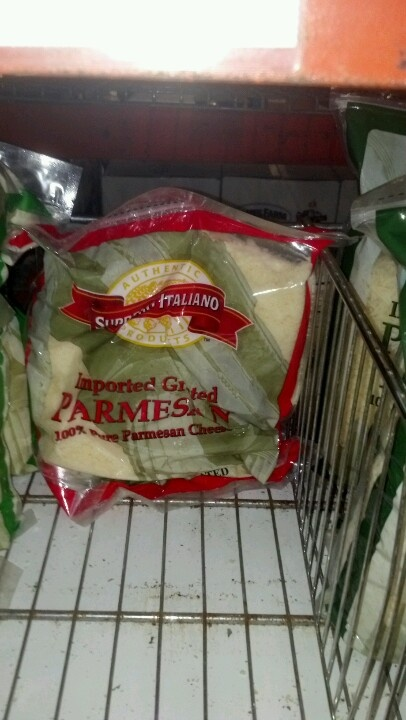 Supremo Italiano Grated Parmesan Cheese 5 lb.