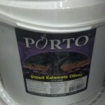 Porto Pitted Kalamata Olives 10 lbs.