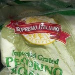 Supremo Italiano Grated Pecorino Romano Cheese 5 lb.