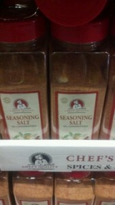 Chef's Quality Seasoning Salt