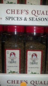 Chef's Quality Whole Caraway Seed 16 oz