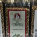 whole coriander