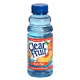 Clear Fruit: Peach Fling 12/20 oz case