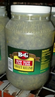 B & G: Sweet Relish 1 gallon