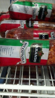 Carando Hot Capicola