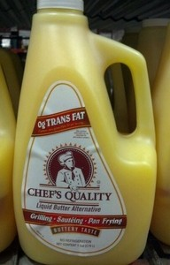 Chef's Quality: Liquid Butter Alternative 1 gallon