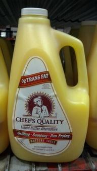 Chef's Quality: Liquid Butter Alternative 1 gallon