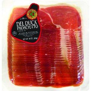 Del Duca Sliced Prosciutto 1 lb.