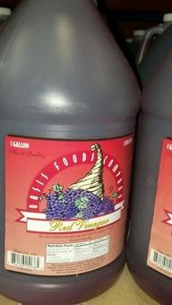 Oasis: Red Vinegar 4/1 gallon case