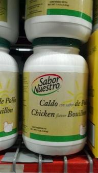 Sabor Nuestro: Chicken Bouillon 7.9 lb.