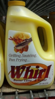 Whirl: Liquid Butter Alternative 1 gallon