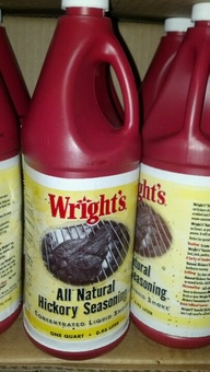 Wright's: Hickory Seasoning Liquid Smoke 32 oz.