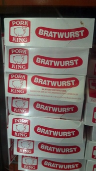 pork king bratwurst