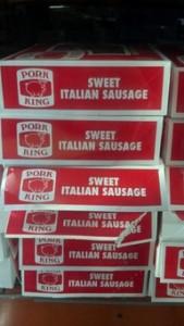 pork king sweet italian sausage