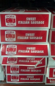 pork king sweet italian sausage