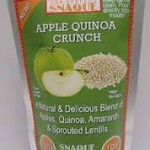 Perfect Snaque: Apple Quinoa Crunch