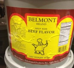 belmont beef soup base