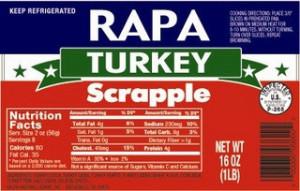 rapa turkey scrapple